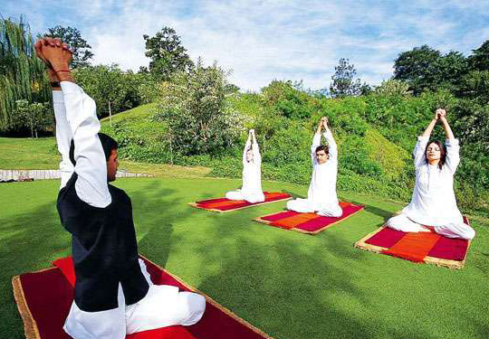 we Bring Lavish and peaceful places for yoga and meditation