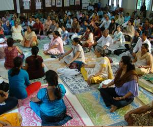 Mass Yoga Classes